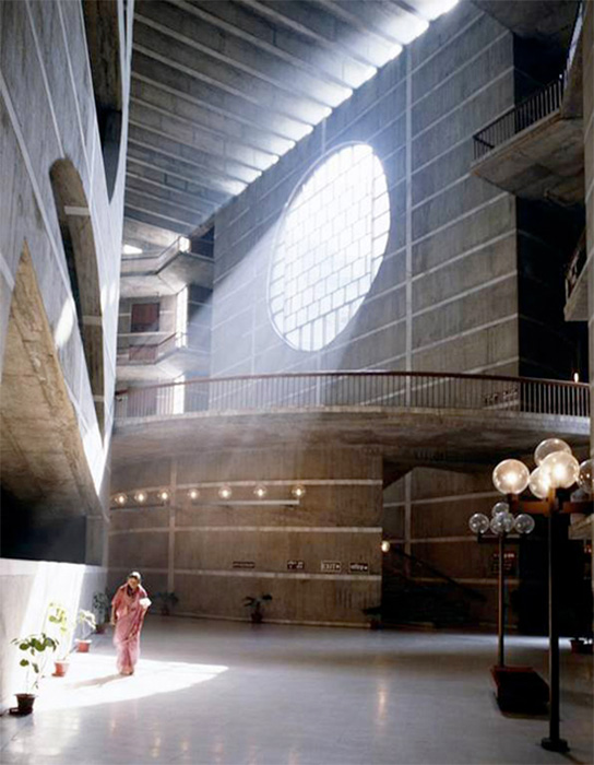 Louis Kahn, Jatiyo Sangshad Bhaban (National Assembly Building of Bangladesh), Dhaka, 1961-82