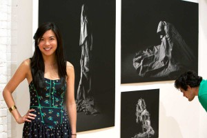 Stephanie Owyang '13, winner of the Hutchinson Fellowship for Art