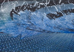 Barbara Takenaga's Two Waves
